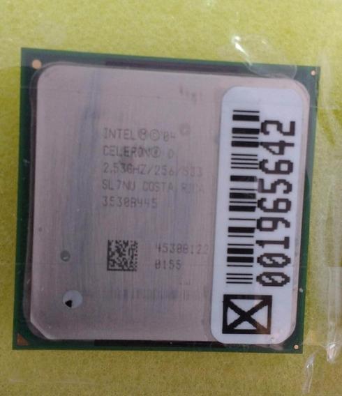 Processador Celeron Sl7nu 2.53ghz/256/533
