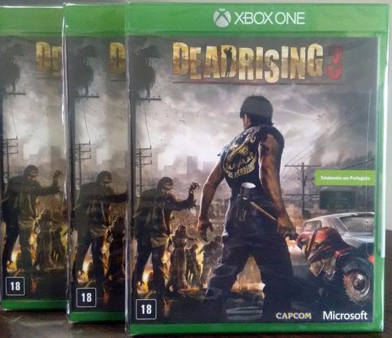 Dead Rising 3 Xbox One Mídia Física Novo Lacrado Br
