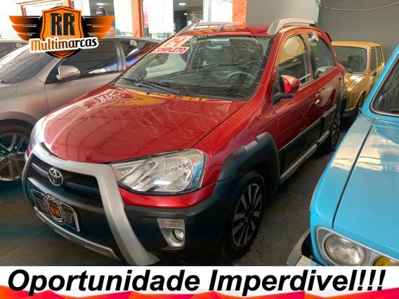 Toyota Etios Cross 1.5 Flex Ano 2014 Completo Autos Rr