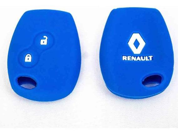 Capa De Silicone P/ Chave - Renault Sandero, Logan, Duster