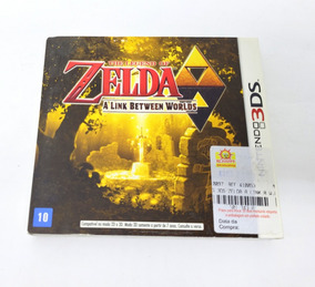 The Legend Of Zelda A Link Between Worlds - 3ds / Semi-novo