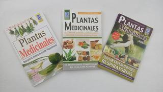 Plantas Medicinales, 3 Tomos.