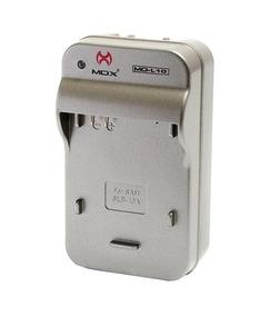 Carregador Bateria Câmera Digital Samsung Slb10 Mox Mo-l10