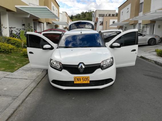 Renault Sandero Modelo 2019 Única Dueña Aun En Garantía