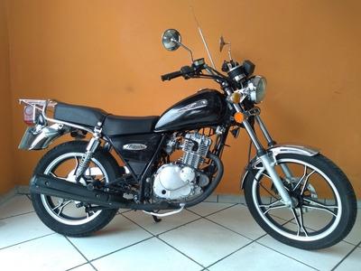 Suzuki Intruder 125 2011 Preta