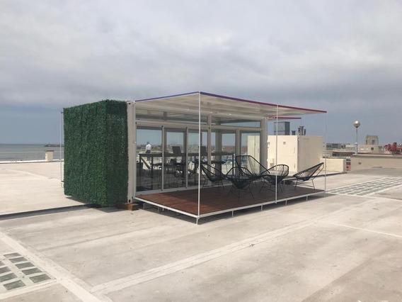 Oficina Container Vidriada Tipo Loft (jf)