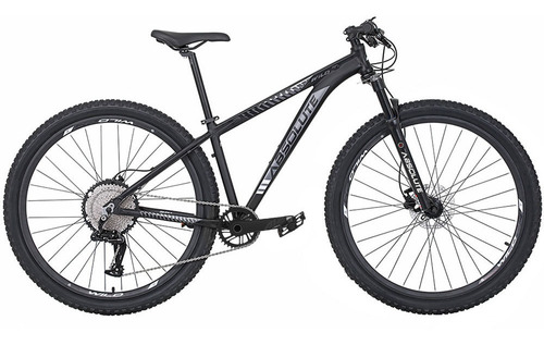 Imagem 1 de 4 de Bicicleta Absolute 12v Wild 29 Preta/cinza Trava No Guidão