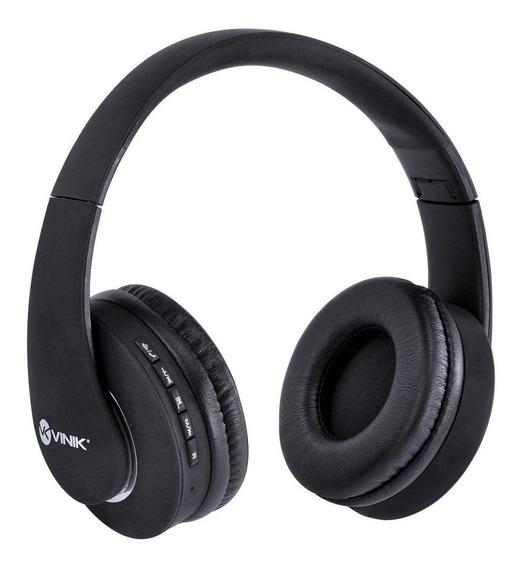 Fone Headset Bluetooth Com Rádio Fm