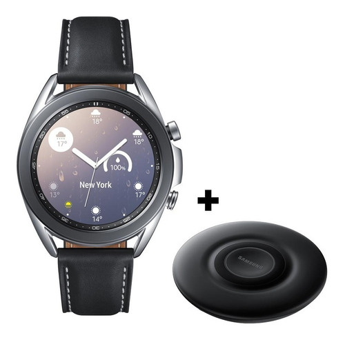 Samsung Galaxy Watch 3 45 Mm + Wireless Charger Pad