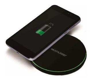 Carregador Sem Fio Wireless Charger 10w Multilaser - Cb130