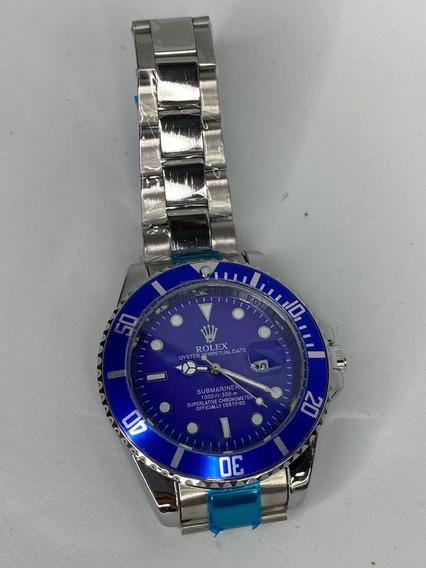 Reloj Submariner Azul Caballero Rolex