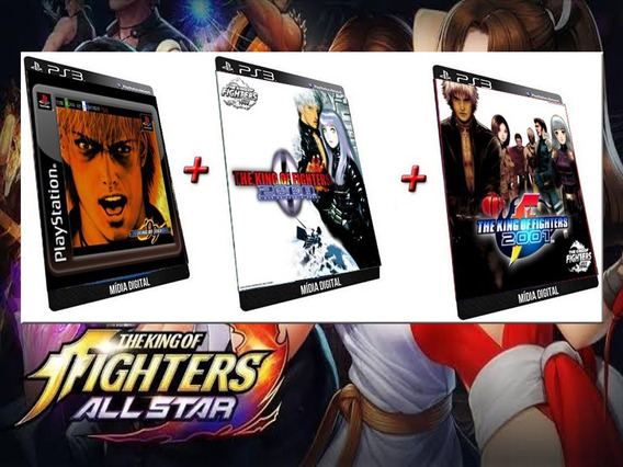 The King Of Fighters 99 2000 2001 Ps3 Game Digital Psn