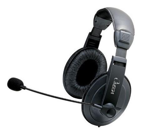 Audifonos Stereo Headset Con Microfono Marca Omega
