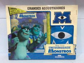 Universidade Monstros Box Livro Com Camiseta Ed Melhoramento