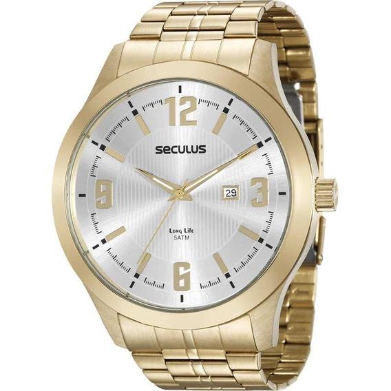 Relógio Seculus Masculino 20494gpsvda1 - 54