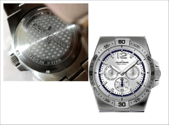 Relógio Suiço Jacques Lemans Original, Muito Conservado