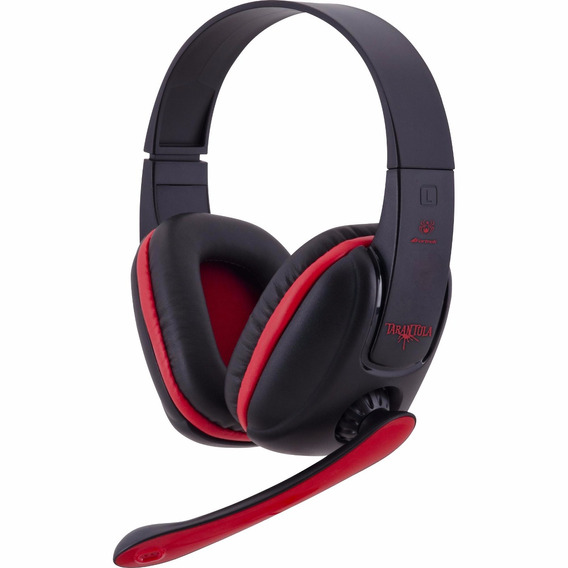 Fone Com Microfone Spider Tarantula Headphone Gamer Para Pc