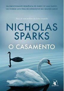 Livro - O Casamento- Nicholas Sparks