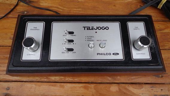 Telejogo Da Ford Philips Funcionando 100% Tipo Pong Da Atari