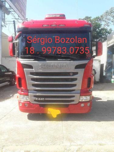 Imagem 1 de 6 de Scania R440 A 6x4 Automatico 2013 Com Retarder