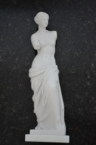 Escultura Estátua Vênus De Milo Po Marmore 40cm Made Italy