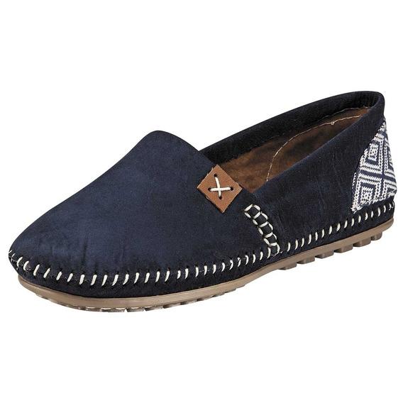Zapato Dama Casual Been Class 7508-gd Marino 22-26 50801 T2