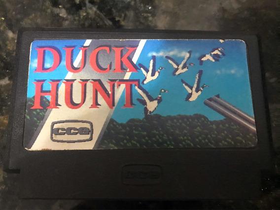 Cartucho Duck Hunt Cce 60 Pinos Nintendinho P/ Vg 8000 Raro