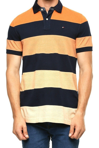 Playera Polo Tommy Hilfiger Hombre Custom Fit 100% Original
