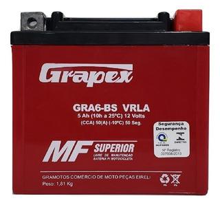 Bateria Gel Off Road Honda Crf 150 F Ano 2006 5ah Trilha