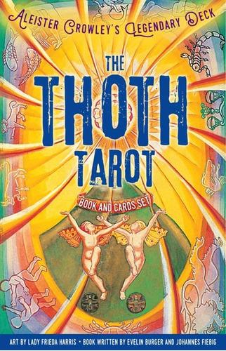 The Thoth Tarot, Book And Card Set. Libro Y Cartas En Ingles