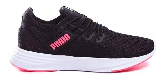 Zapatilla Puma Running Mujer Radiate Xt Negro - Fucsia Ras