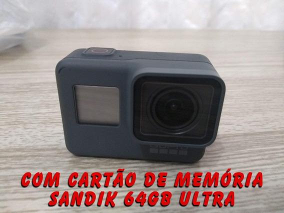 Câmera Gopro Hero 5 Black Com + De 15 Acessórios Novíssima
