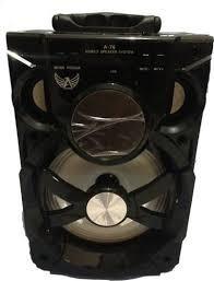 Caixa De Som Bluetooth Altomex A80 Usb Sd Rádio Fm Grande