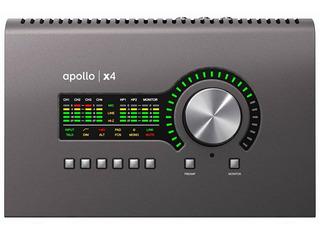 Universal Audio Apollo X4 Thunderbolt 3 Placa 4 Pre Adat