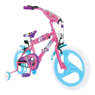 Bicicleta Disney Minnie Rodado 16 Licencia Oficial