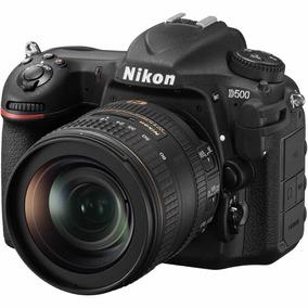 Nikon D500 Dslr Lente 16-80mm - Nova E Sem Uso