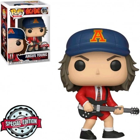 Funko Pop Angus Young Red Jacket Ac/dc 91