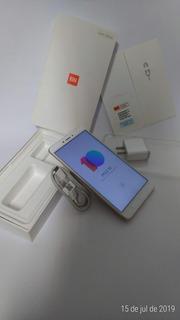Celular Xiaomi Mi Max 2 Completo 4gb 64gb Semi Novo Dourado