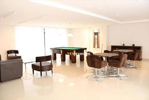 Apartamento Com 2 Dormitórios À Venda, 61 M² Por R$ 467.000,00 - Centro - Curitiba/pr - Ap3784