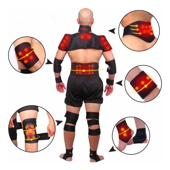 Paquete Fajas Magnetica Rehabilitacion Espalda Cadera Brazos