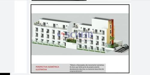 Apartamento Com Um Dormitório No Campo Grande! - Mr72701