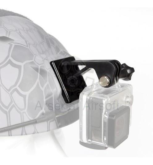 Suporte Câmera Action Gopro Capacete Emerson Airsoft