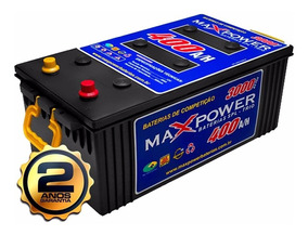Bateria Maxpower 400ah Alto Desempenho Estacionaria 2 Anos