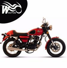 Gilera Vc200 R Cafe 200cc 2017 0km - W Motos San Miguel