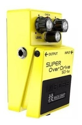 Pedal Para Guitarra Boss Sd-1w Super + Fonte Hayonik 9v