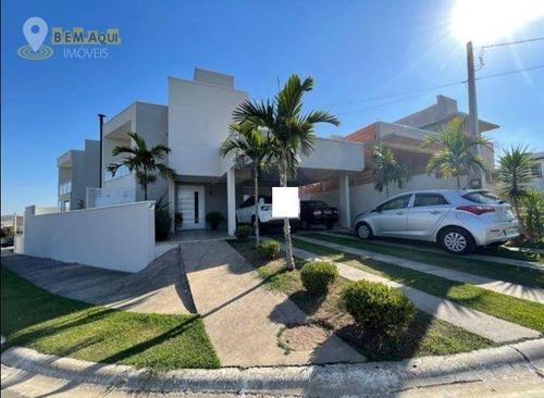 Imagem 1 de 30 de Casa Com 3 Dormitórios À Venda, 273 M² Por R$ 1.100.000,00 - Residencial Lagos D'icaraí - Salto/sp - Ca1637