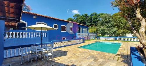 Linda Chácara Mobiliada Com Cozinha Mineira À Venda, Palmeiras - Suzano/sp - Ch00062 - 69304294
