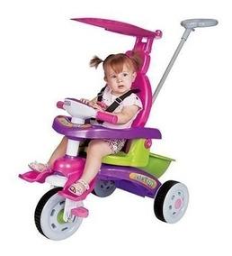 Carrinho Para Bebê Menina Triciclo Fit Trike 3339 Magic Toys