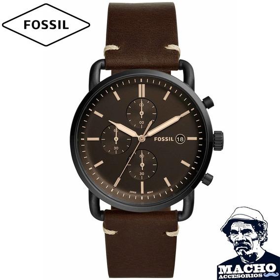 Reloj Fossil The Commuter Fs5403 En Stock Original Garantía