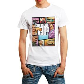 Camiseta Gta Breaking Bad Heisenberg Jesse Walter Séries